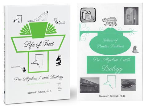 Life of Fred Math, kit #6 de 2 libros reutilizables