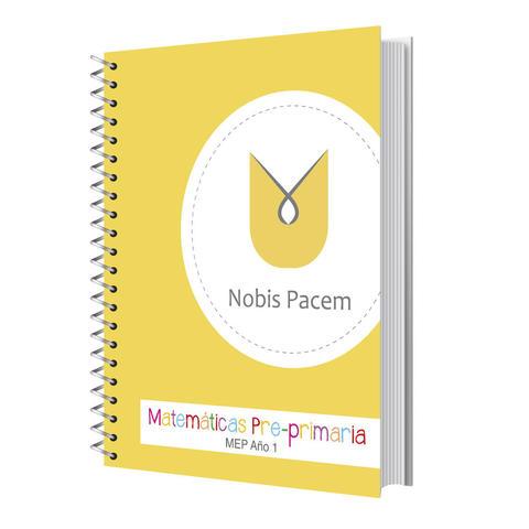 Nobis Pacem Homeschool Matemáticas Pre-primaria